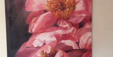 Peonies by Margaret Ruscoe