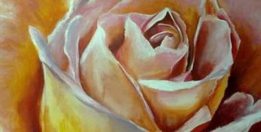 Orange Rose by Margherita Destefanis