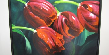 Red Tulips by Sylvia Stanford